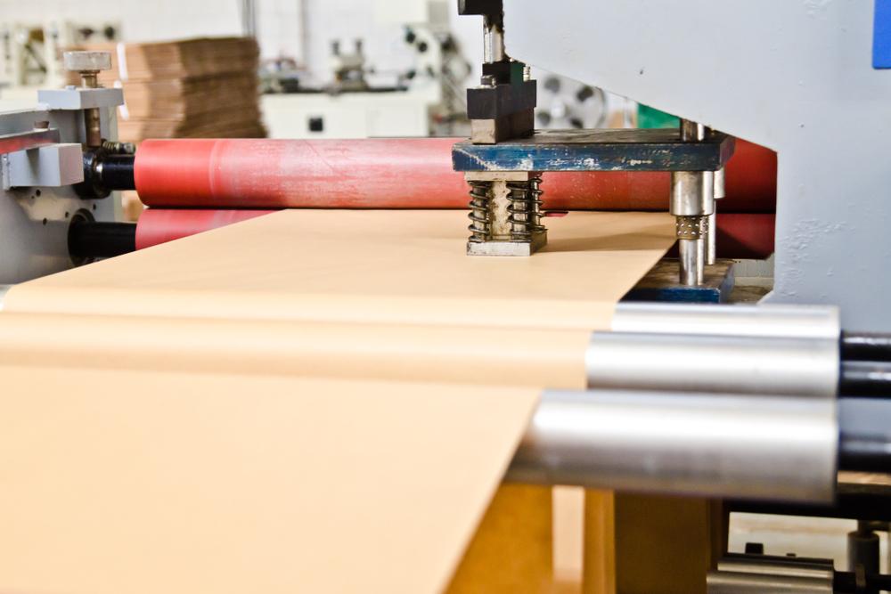 Kraft Paper Crepe Tube Winding Machine