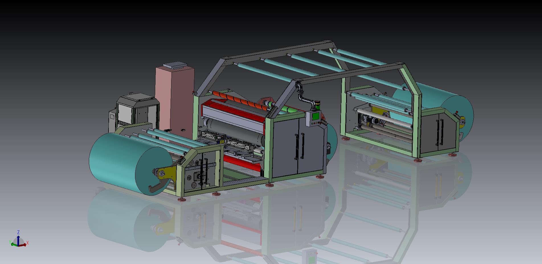 Hotmelt Lamination Machine